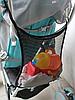 Сумка сетка органайзер для коляски универсальная, фото 2