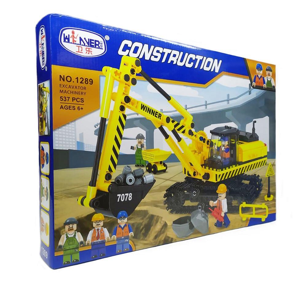 """Конструктор """"Excavator machinery"""" 1289"""