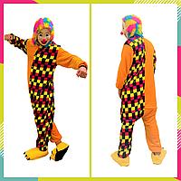 Пижама Кигуруми веселый Клоун для взрослых, Костюм клоуна, унисекс, размер L