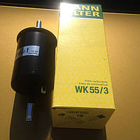 Топливный фильтр Opel-Daewoo-Chevrolet-ZAZ фирмы MANN-FILTER WK55/3