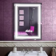 LED зеркало со светодиодной подсветкой DV 7-52 600х800 мм. дзеркало бесплатная доставка
