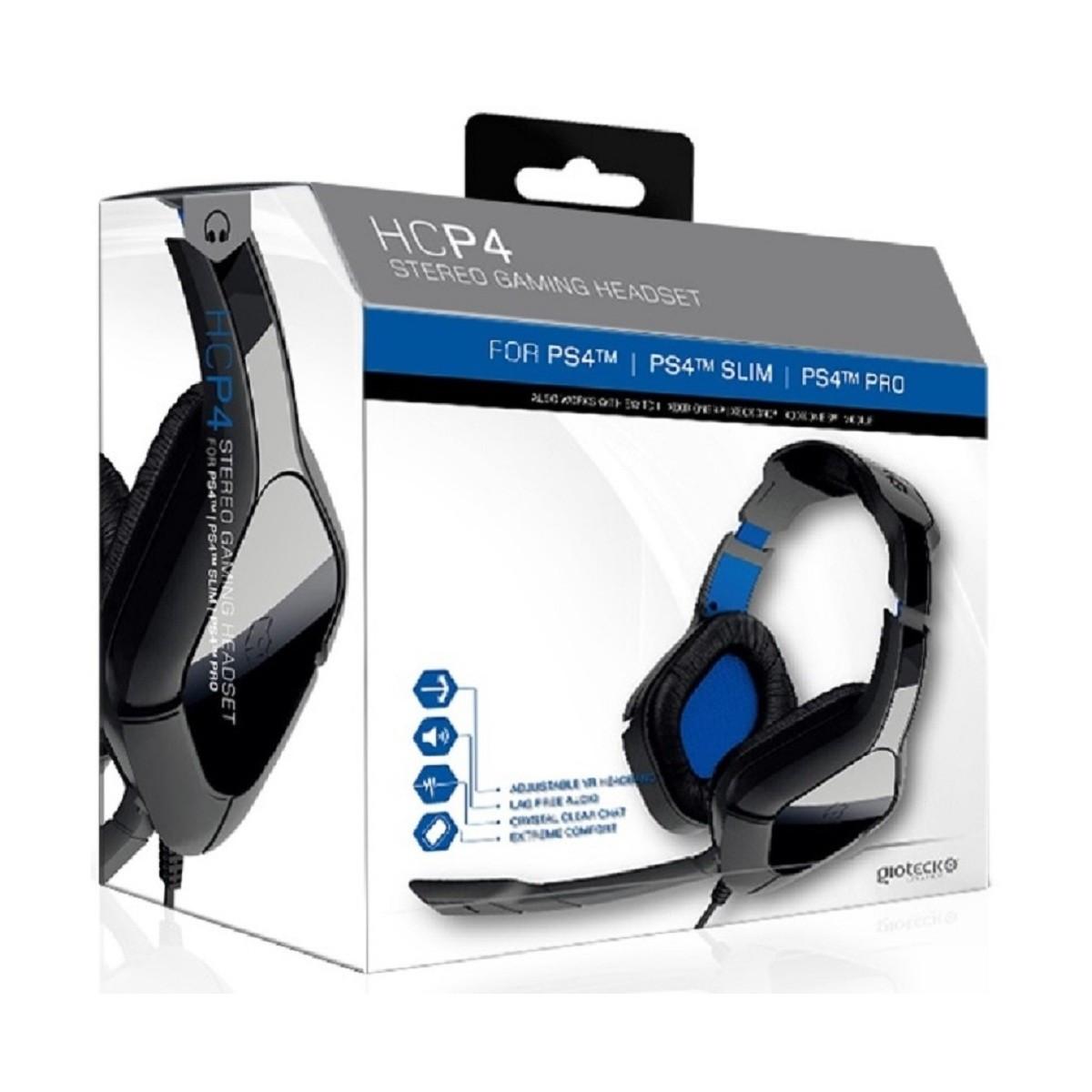 Навушники для PS4 Gioteck HC-P4 Stereo Gaming Headset (Black)