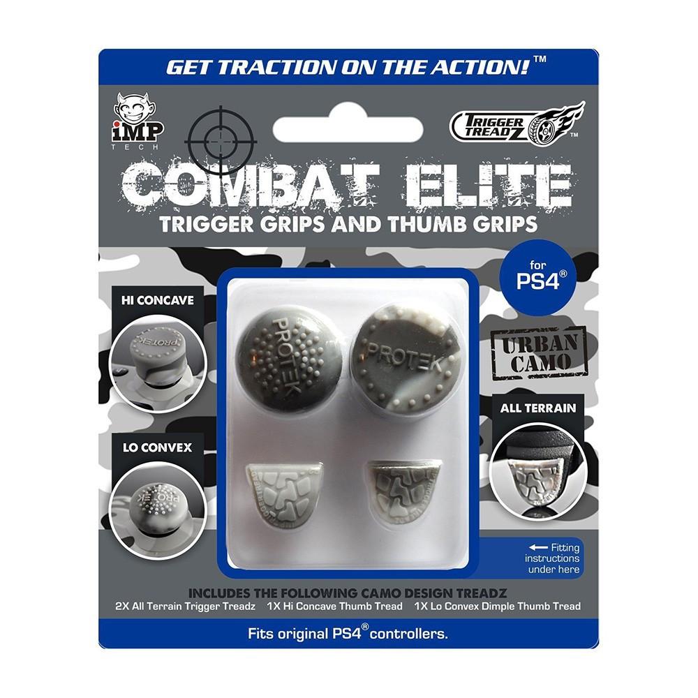 Накладки на тригери Dualshock 4 Trigger Treadz Combat Elite Urban Camo