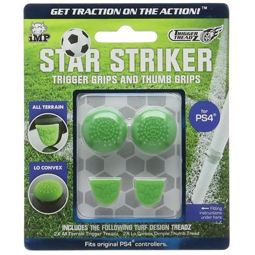 Накладки на тригери геймпадов Dualshock 4 Trigger Treadz Star Striker (4 шт.)