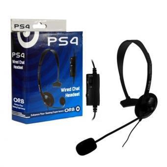 Провідна гарнітура ORB для PS4 з мікрофоном