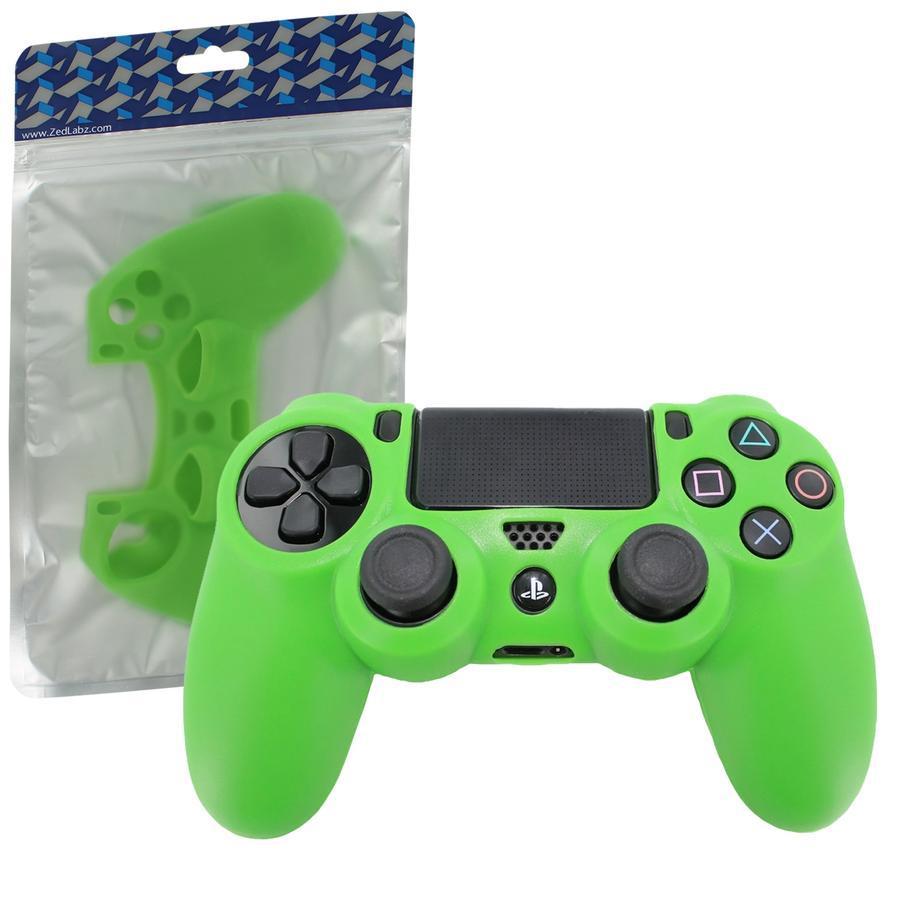 Силиконовый чехол для геймпадов Dualshock 4 (Green)