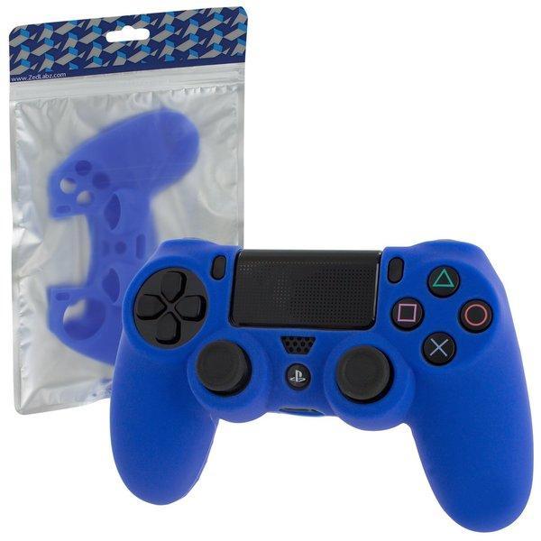 Силіконовий чохол для геймпадів Dualshock 4 (Blue)