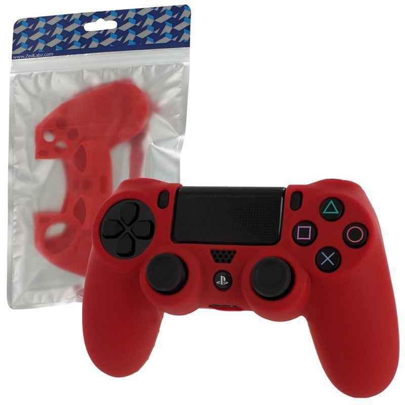 Силіконовий чохол для геймпадів Dualshock 4 (Red)