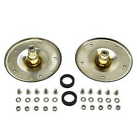 Опоры барабана 2шт (нержавейка) для вертикальной стиральной машины Whirlpool 480110100802