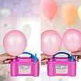 Насос для надування повітряних кульок Balloon Pump 73005, електричний побутовий компресор для кульок, фото 2