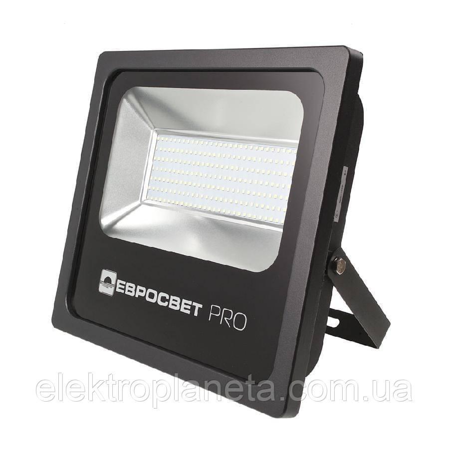 Прожектор светодиодный ЕВРОСВЕТ 150Вт 6400К EV-150-504 PRO 13500Лм + PULS