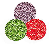Бульонки цветные 0,9-1,25 мм, 15 гр