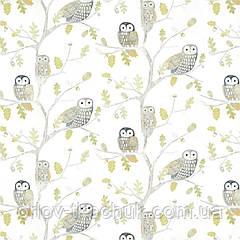 Шпалери в дитячу Little Owls Book Of Little Treasures Harlequin