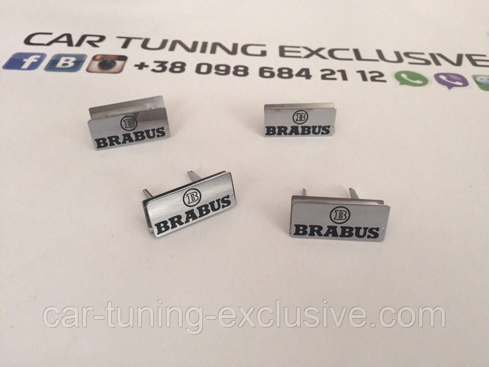 BRABUS emblems interior doors for Mercedes G-class 4x4²