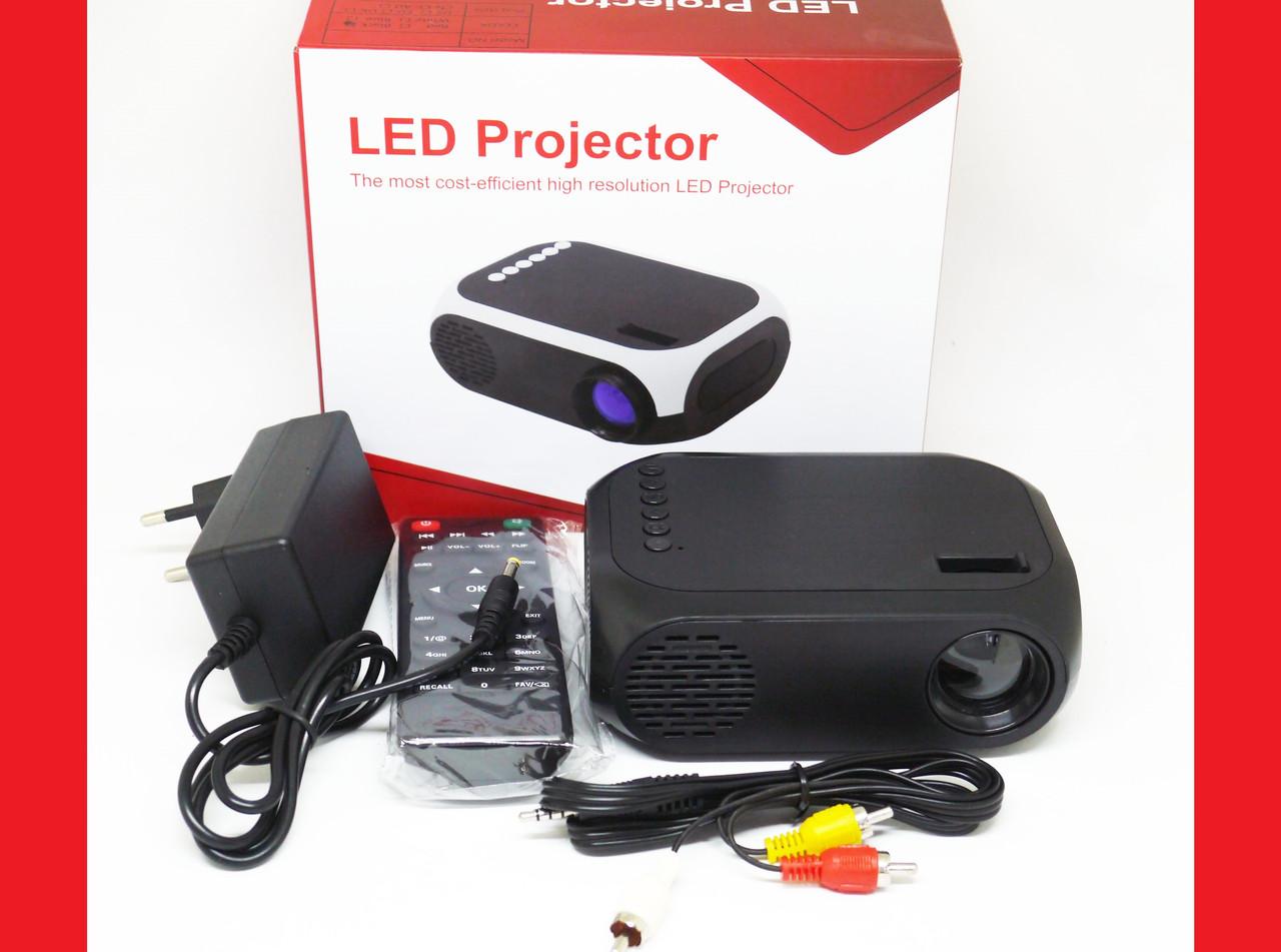 Led Projector YG320C Mini проектор портативный мультимедийный