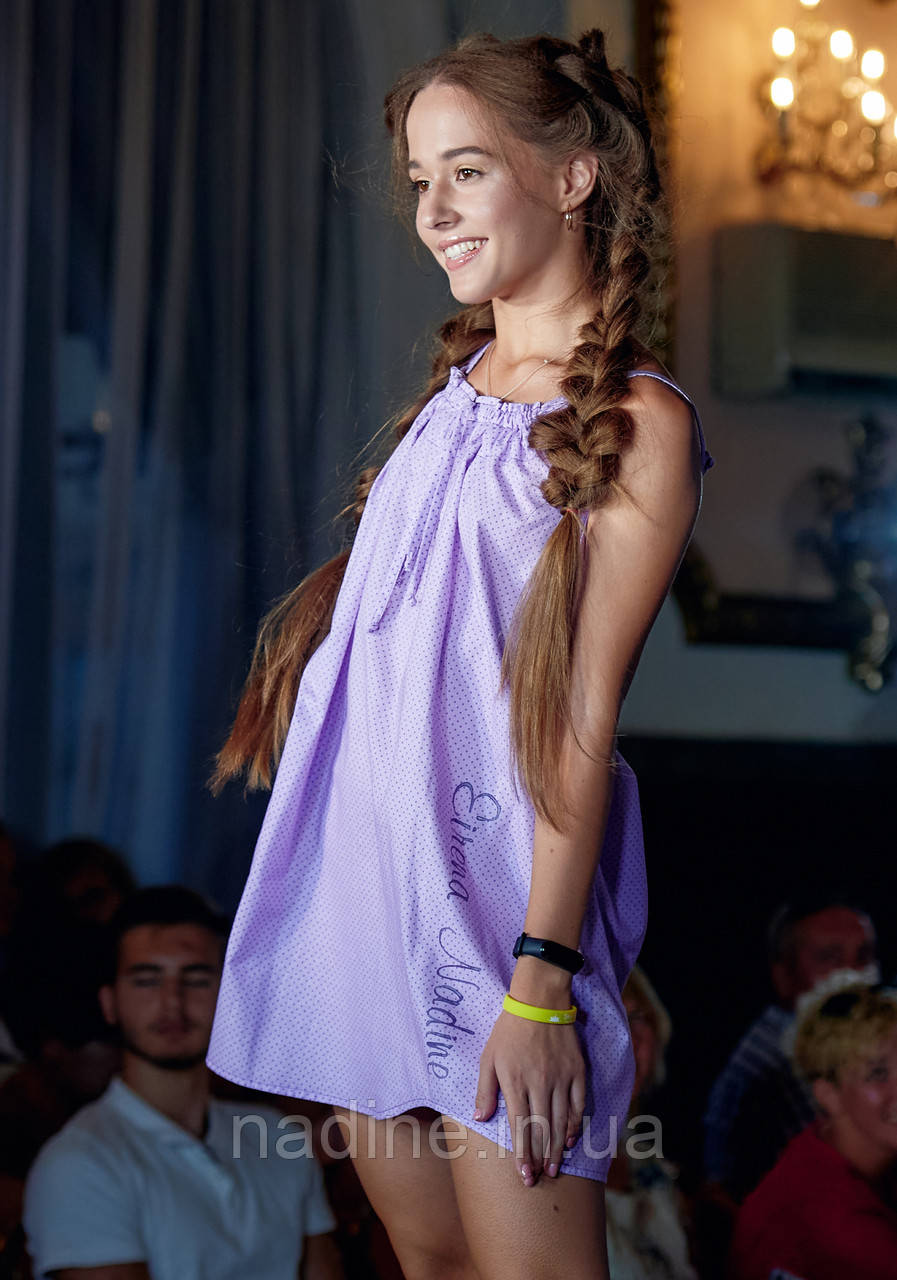 Нічна сорочка Eirena Nadine (794-58) 158/40 Фіолетова
