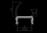 Дверний Ущільнювач (ущільнюючий профіль) 35.5 мм, фото 2