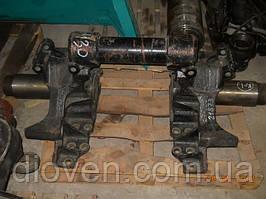 Кронштейн осі балансира МАЗ зі стяжкою 10 отв. 430мм/540мм (пр-во МАЗ) (Арт. 6430-2918140)
