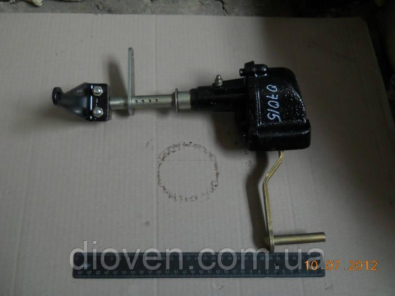 Рычаг управления подачей топлива с кронштейном (блока газа) КРАЗ в сборе (Арт. 6505-1108011-01)