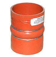 Патрубок інтеркулера КРАЗ (90х98-120 великий, гофрований) силікон з мет.кільцями (Арт. 65055-1323220), фото 1