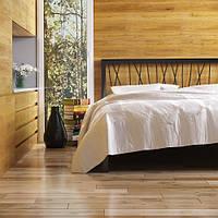 Ліжко металеве Бергамо-2 з ізножьем