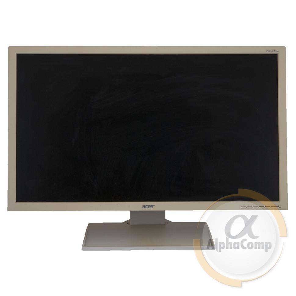 """Монитор 24"""" Acer V243HL (TN/LED/16:9/DVI/VGA/колонки) white БУ"""