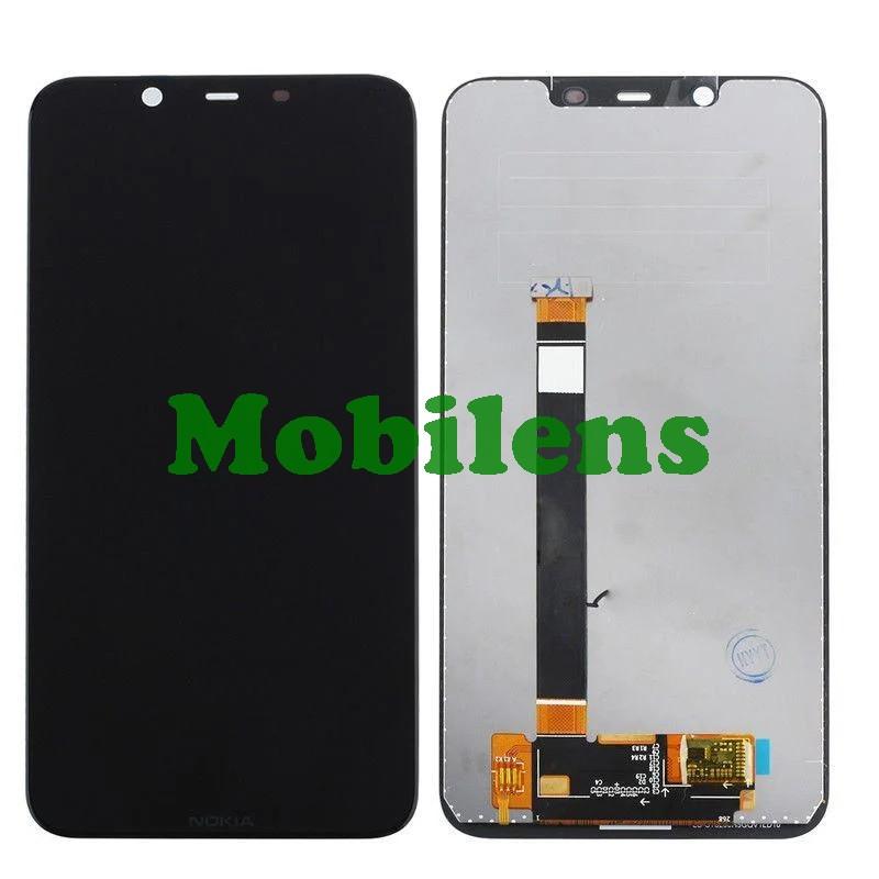 Nokia 7.1 Plus, X7 2018 Дисплей+тачскрин(модуль) черный