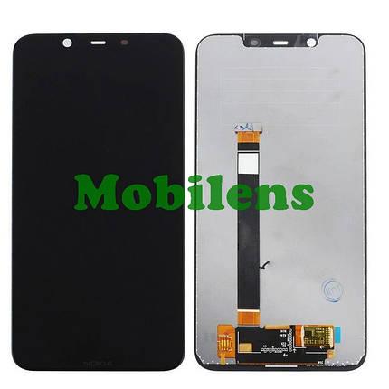 Nokia 7.1 Plus, X7 2018 Дисплей+тачскрин(модуль) черный, фото 2