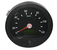 Спидометр 24В электрон. Ø140мм под датчик ПД8089, ПД8089-1, ПД8093 МАЗ (пр-во Беларусь) (Арт. ПА8090-4)