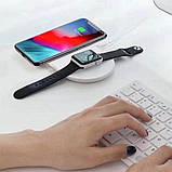 Беспроводное зарядное устройство Baseus 2 in1 Wireless Charger Pad White, фото 6