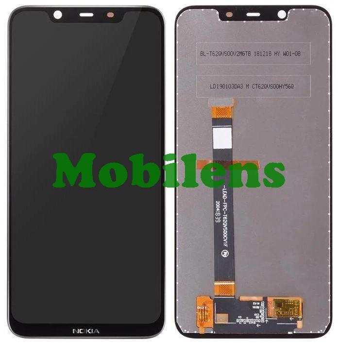 Nokia 8.1, TA-1119 Дисплей+тачскрин(модуль) черный