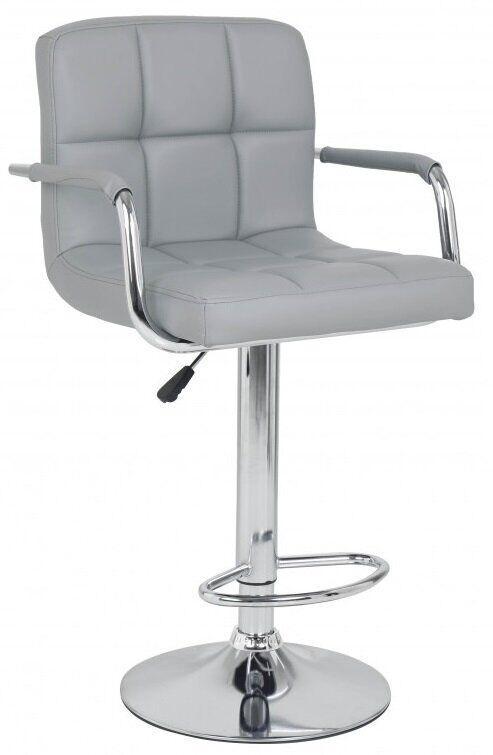 Барный стул хокер Bonro B-628-1 серый 40080016
