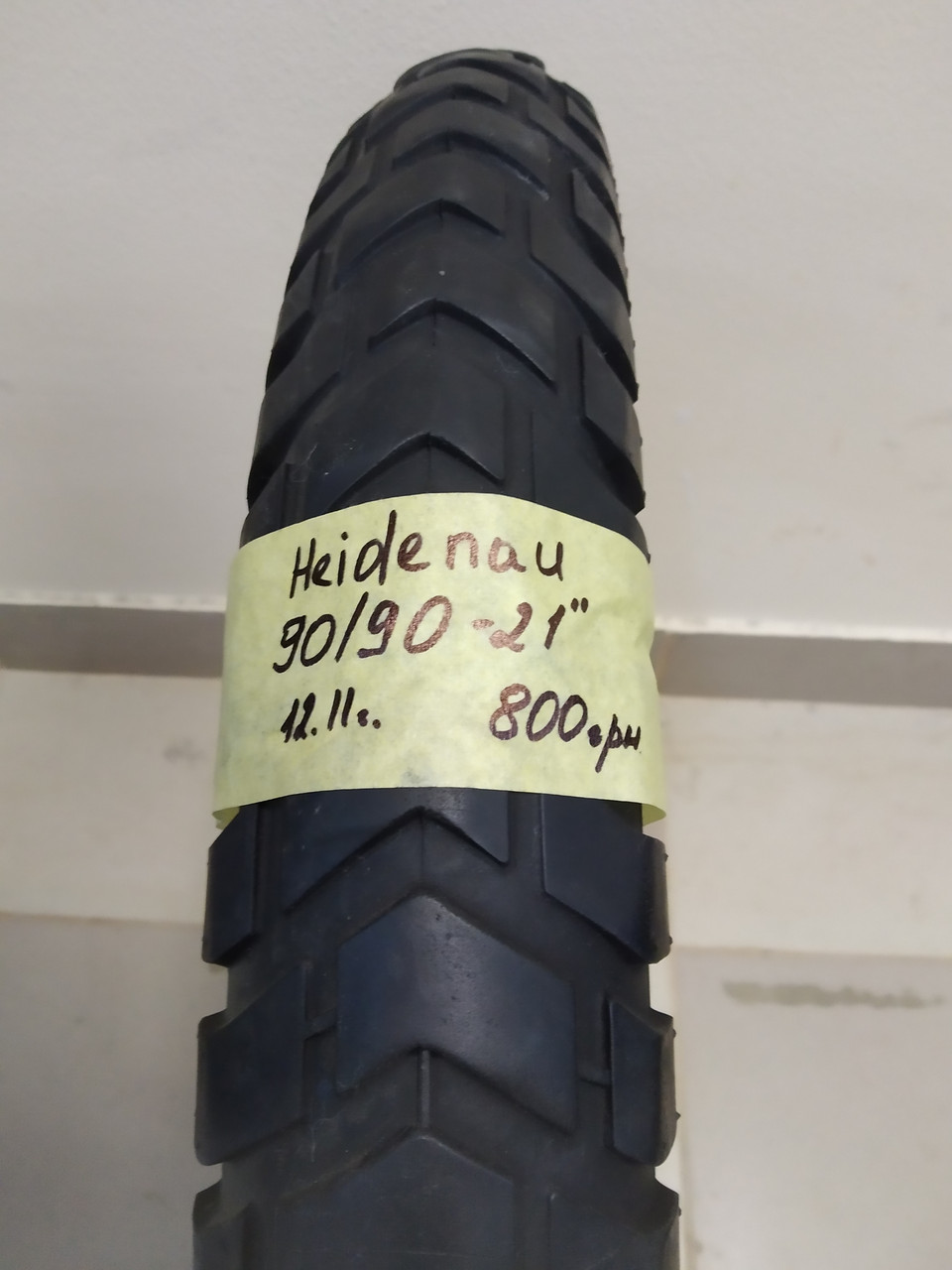 Heidenau 90 90 21  (12.11) мото шина покрышка резина колесо