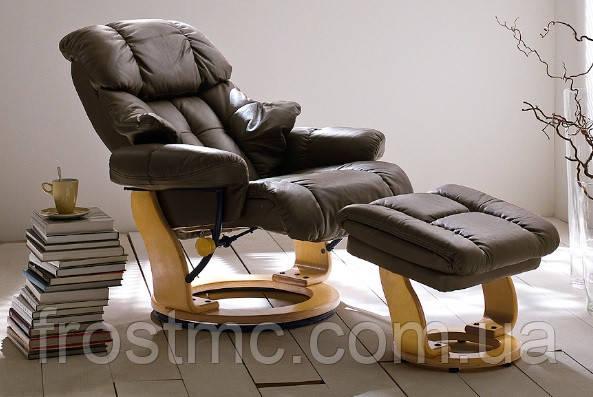 Крісло-реклайнер для відпочинку Relax Люкс