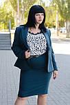 Женский деловой костюм из пиджака и юбки ., фото 4
