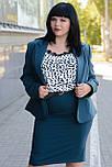 Женский деловой костюм из пиджака и юбки ., фото 2