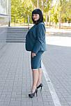 Жіночий діловий костюм з жакета і спідниці ., фото 3