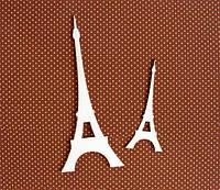 Чипборд Эйфелева башня, 2 шт. (6 и 10 см)  019
