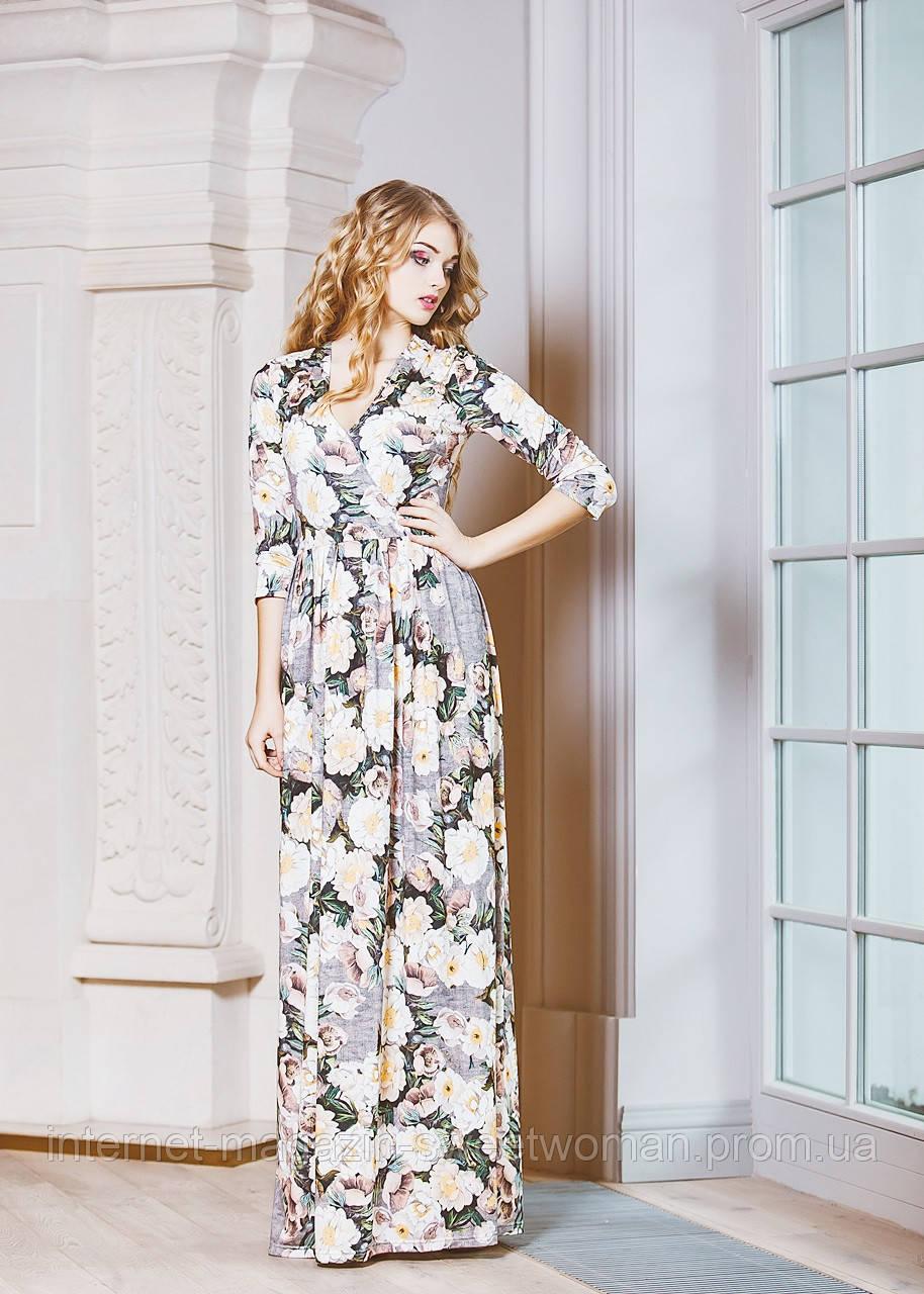 Красива сукня у квіти Verezhik House