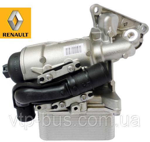 Корпус масляного фильтра с охладителем на Renault Trafic 2.0dCi (2011-2014) Renault (оригинал) 8201005241