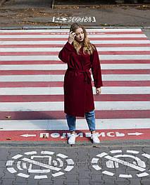 Стильне червоне пальто VEREZHIK HOUSE
