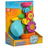 Іграшка-водоспад для ванної Квітка в горщику 9909, фото 6