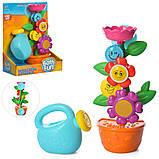 Іграшка-водоспад для ванної Квітка в горщику 9909, фото 4