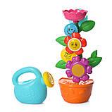 Іграшка-водоспад для ванної Квітка в горщику 9909, фото 8