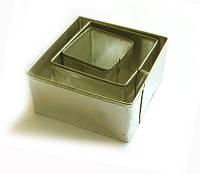 Набор квадратных каттеров для полимерной глины, 3 шт.