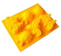 Силиконовая форма для мыла Бабочки-букашки 6-04