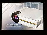 Проектор мультимедийный с динамиком Led Projector YG400, фото 8