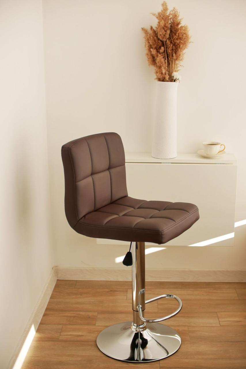 Барный стул хокер Bonro B-628 коричневый 40080003