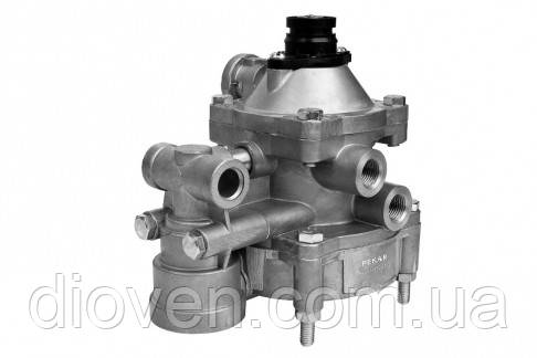 Клапан упр. с 2-х провод. привода прицепа с клапаном обрыва (пр-во ПЕКАР) (Арт. 64221-3522010)