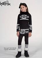Детское платье для девочки Krytik Италия 74634/KR/00A Черный